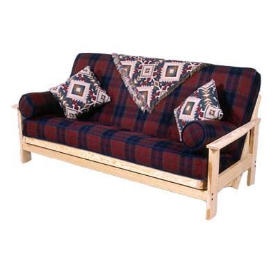 Adirondack futon frame Adirondack bed frame